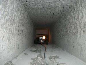 Videoispezione canali aria